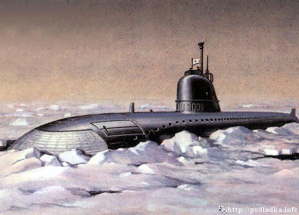 в каком году была создана подводная лодка